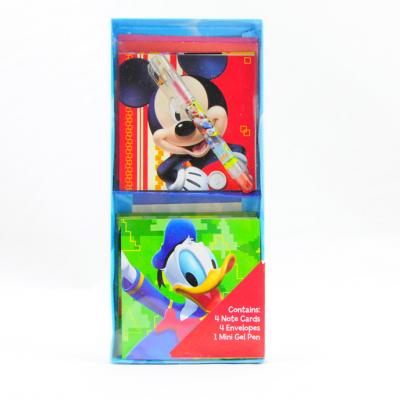 Disney Mickey Mouse Gift Cards & Gel Pen