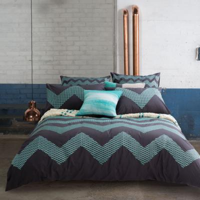 KAS ZIG ZAG Queen Quilt Cover Set