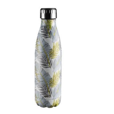 Avanti  Fluid Twin Wall Vacuum Bottle 500ml - Trop Blue/Gold