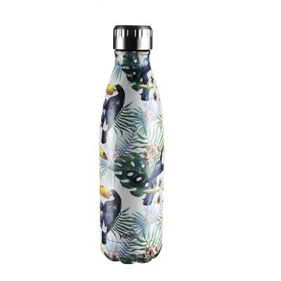 Avanti  Fluid Twin Wall Vacuum Bottle 500ml - Trop Toucan