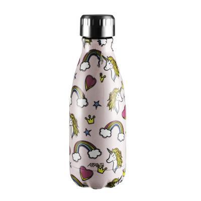 Avanti  Fluid Twin Wall Vacuum Bottle 350ml - Unicorn