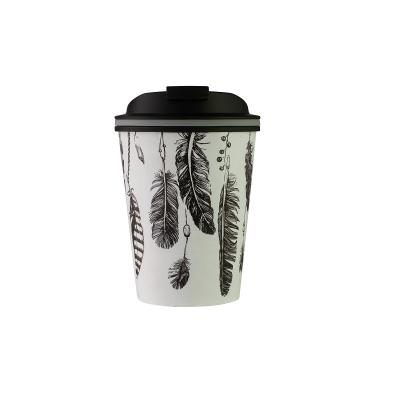 Avanti Go Cup Double Wall Stainless Steel Travel Cup 280ml  - Feather