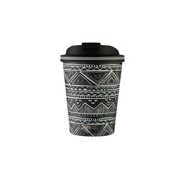 Avanti Go Cup Double Wall Stainless Steel Travel Cup 280ml  - Tribal