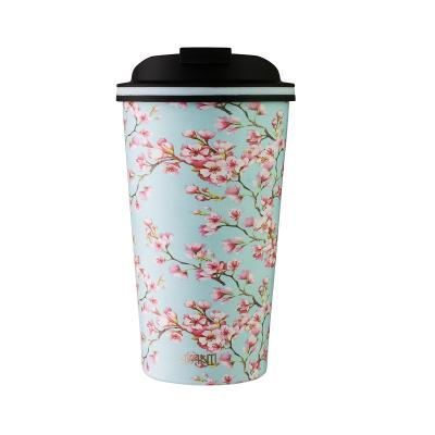 Avanti Go Cup Stainless Steel 410ml - Blossom