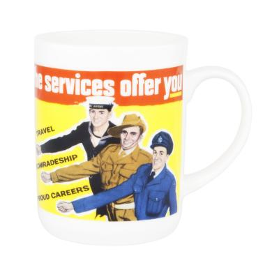 Ashdene Classic Wartime Collection Mug - Servicemen