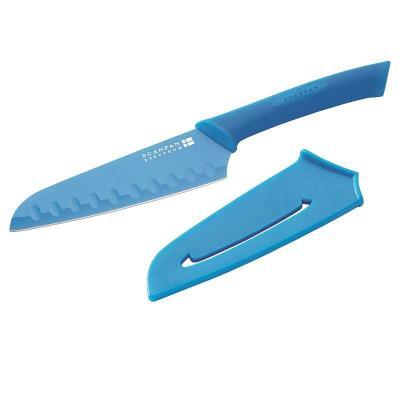 SCANPAN Spectrum Blue Santoku Knife 14cm