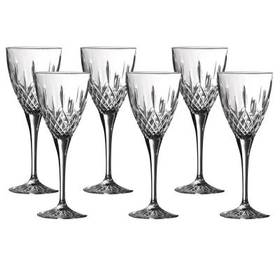 Royal Doulton Earlswood Crystalline Wine Goblets 250ml | Set of 6 Glasses