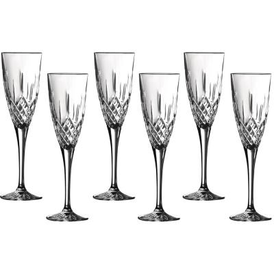Royal Doulton Earlswood Crystalline Champagne Flute 150ml | Set of 6 Glasses