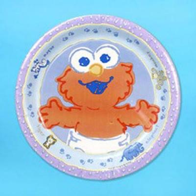 Sesame Street Elmo Party Plates 8 pack