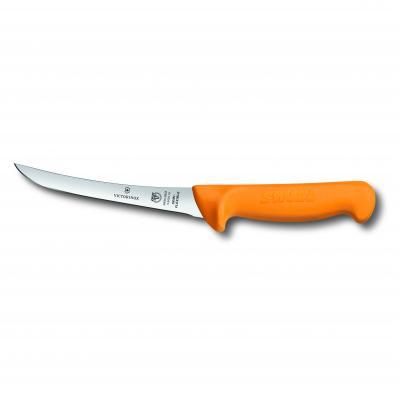 Victorinox Swibo Boning Knife 16cm Curved Narrow Blade Semi Flexible | 5.8404.16