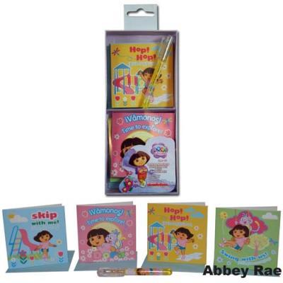 Dora the Explorer Gift Cards & Gel Pen