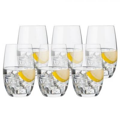 Luigi Bormioli Accademia Palace Tonic Water Glass 6pc Set 445ml   Made in Italy