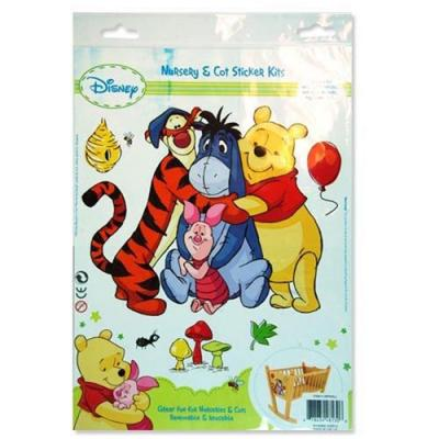 Disney Winnie the Pooh Removable Wall Stickers Nursery Decorations New Licensed