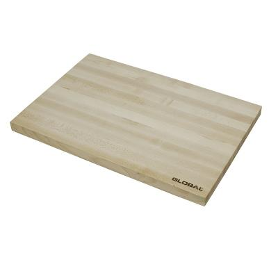 Global Knives Maple Preparation Cutting Board 37x25x2cm | Made of Maple Wood