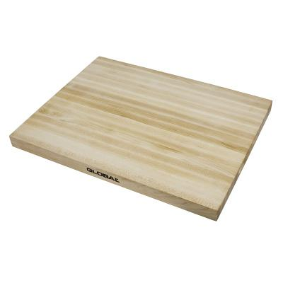Global Knives Maple Preparation Cutting Board  40x30x3cm | Made of Maple Wood