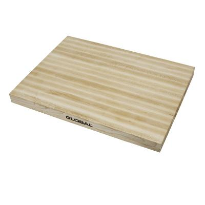 Global Knives Maple Preparation Cutting Board 45X34X3cm   Made of Maple Wood