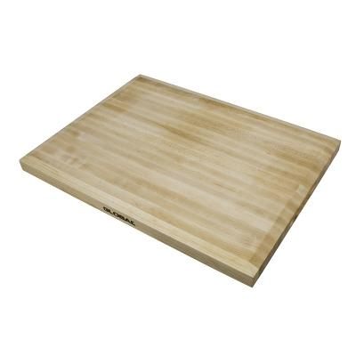 Global Knives Maple Preparation Cutting Board 51X38X4cm   Made of Maple Wood