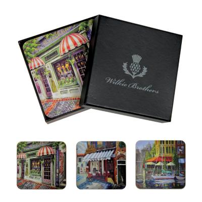 Wilkie Brothers Coasters 6pcs - French Cafe