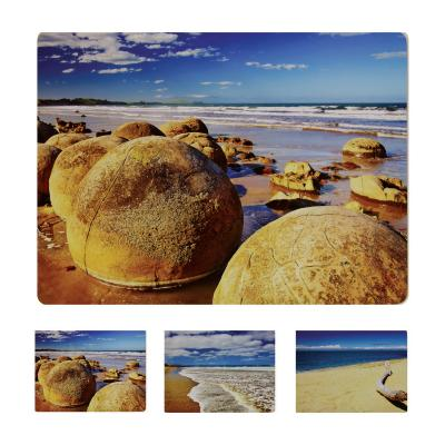 Wilkie Brothers Placemats 6pcs - Beach Coast