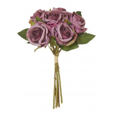 Rogue Rose Bouquet Mauve 27cm