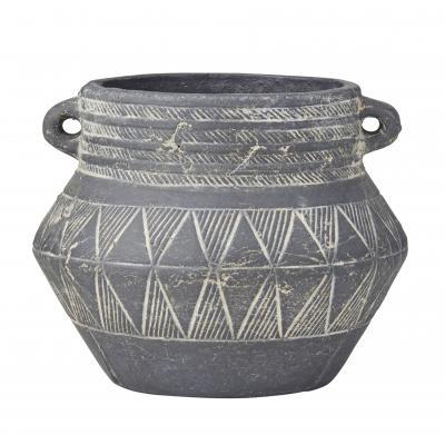 Rogue  Zina Pot Black 21cm