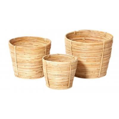Rogue Ishika Basket Set/3 Natural 20cm