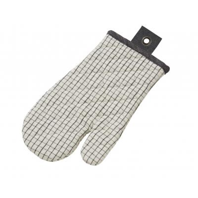 Academy Woolf Grid Print Padded Oven Glove
