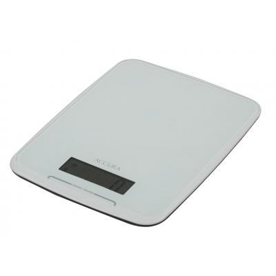 Accura Athena Electronic Kitchen Scale/Clock - 24x18x2cm