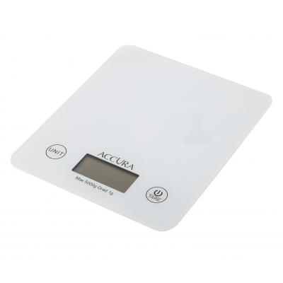 Accura Atlas Electronic Kitchen Scale - White
