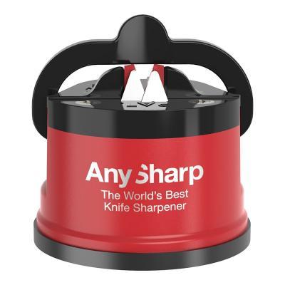 Anysharp Pro Metal Knife Sharpener - Red/Black