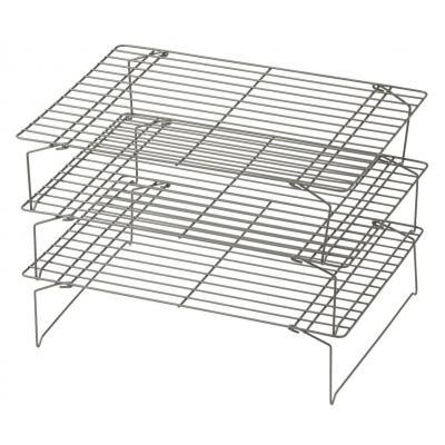 Davis Waddell Essentials 3 Tier Non Stick Cooling Rack Baking/Food Display/Cake