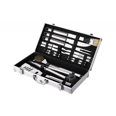 Maverick BBQ Tool Set with Aluminium Case Set 18pce