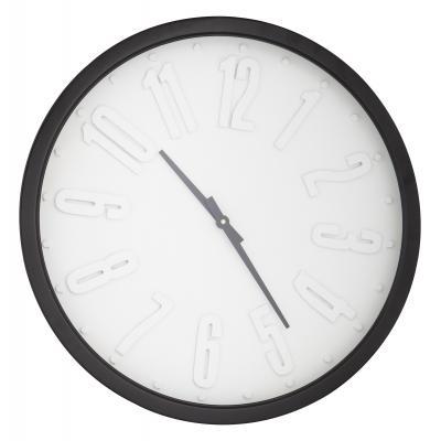 Amalfi Redding Wall Clock 58x6.5x58cm | White&Black