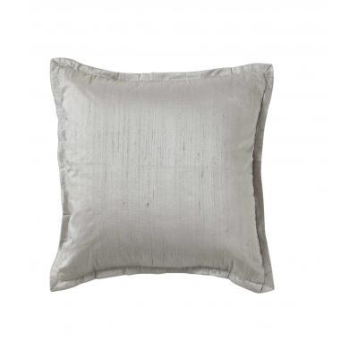 Society-home Calloway Cushion | Grey Dupion Silk | 45x45cm