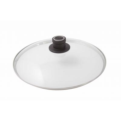 Woll Round Safety Glass Lid 18cm