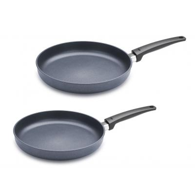 Woll Saphir Lite Fry Pan Set 2pce | 24cm + 28cm