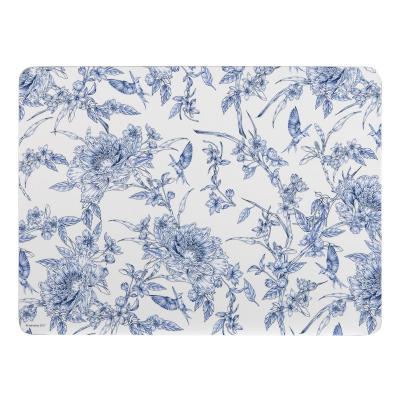 Ashdene Indigo Blue Hummingbird Placemats Set of 4