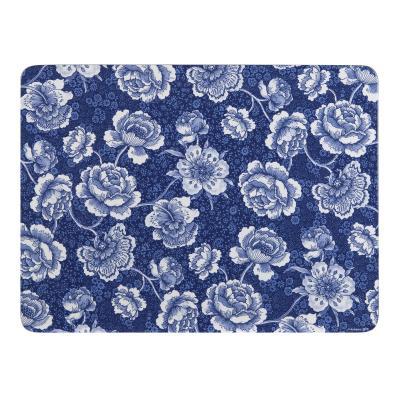 Ashdene Indigo Blue Roses Placemats Set of 4