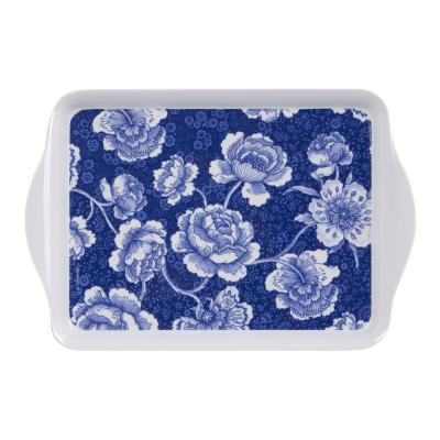 Ashdene Indigo Blue Roses Scatter Tray