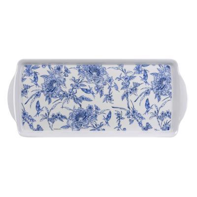 Ashdene Indigo Blue Hummingbird Sandwich Tray