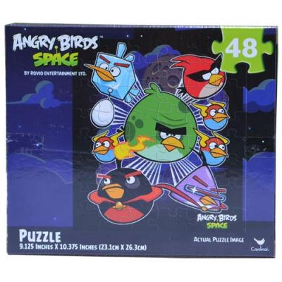 Angry Birds Space Jigsaw Puzzle 48 Piece Puzzle Toy New Licensed