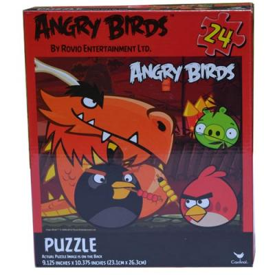 Angry Birds Jigsaw Puzzle 24 Piece Dragon and Angry Birds Kids Puzzle New Licensed