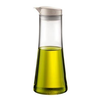 Bodum Bistro Borosilicate Glass Oil Or Vinegar Dispenser 500ml White