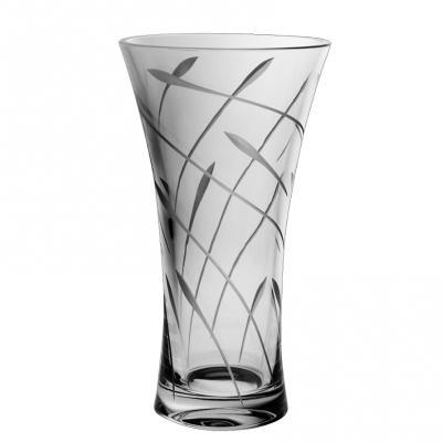 Bohemia Crystal Flow Waisted Vase 30cm
