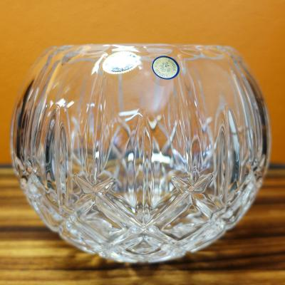 Bohemia Crystal Sheffield Rose Bowl 17.5cm