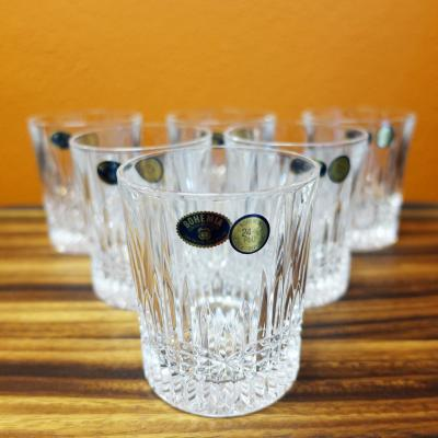 Bohemia Crystal BEDFORD Old Fashion Tumbler 300ml 6pcs Whiskey Glasses