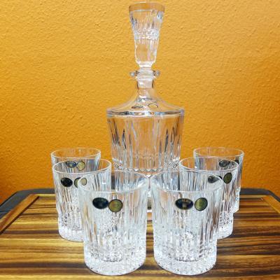 Bohemia Crystal BEDFORD 7pcs Whisky Set