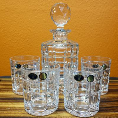 Bohemia Crystal ICE 5pcs Whiskey Set