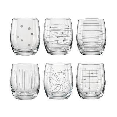 Bohemia Crystal Elements Tumbler 300ml Mixed/6pc