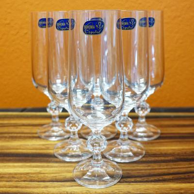 Bohemia Crystal CLAUDIA Champagne Flute 180ml 6pcs